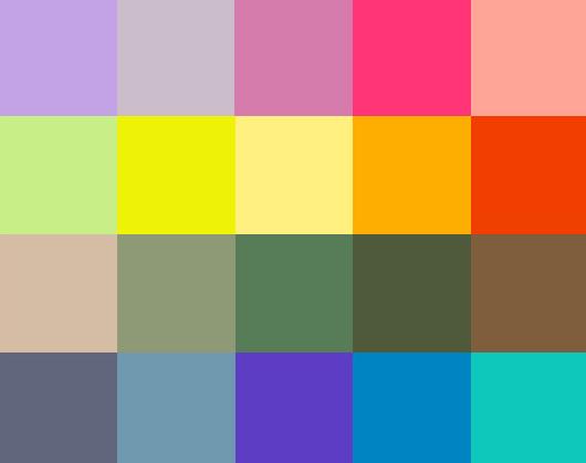 Spring 2014 Palette