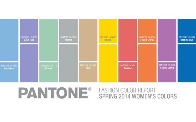 Spring 2014 Colors