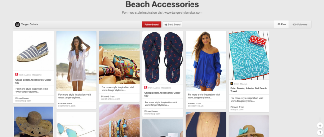 Pinterest - Beach Accessories