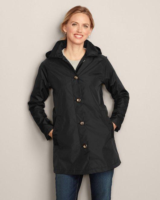 Tanger Outlets_Eddie Bauer Black Raincoat