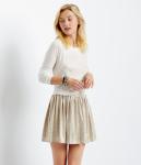 Gold Skirt_Aeropostale